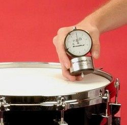 snare drum tuning with the drumdial and edge gage